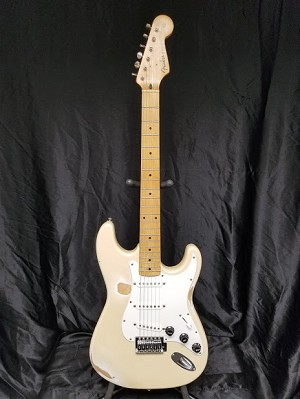 (USED) Frankenfender S-Style Electric Guitar, Homemade Relic