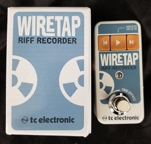 (USED) TC Electronic Wiretap Riff Recorder Looper Guitar Effects Pedal
