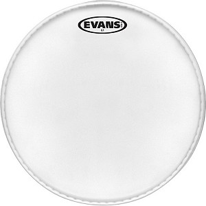 Evans Genera G1 Single Ply Clear Batter Head 6""