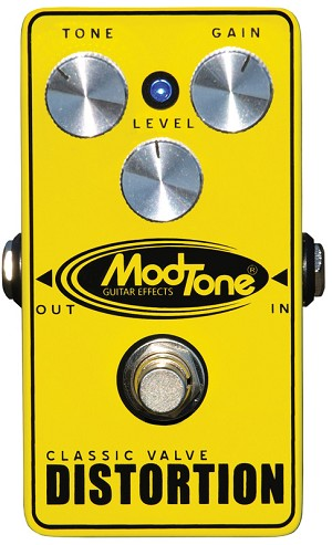 ModTone MT-CD Classic Valve Distortion Pedal