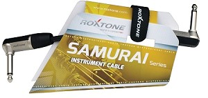 Roxtone SGJJ130L015 Samurai Series Patch Cable 6-inches