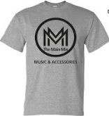 Official The Main Mix T-shirt, Heather Gray