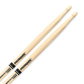 Promark TX5BW Hickory 5B Drumsticks Wood Tip